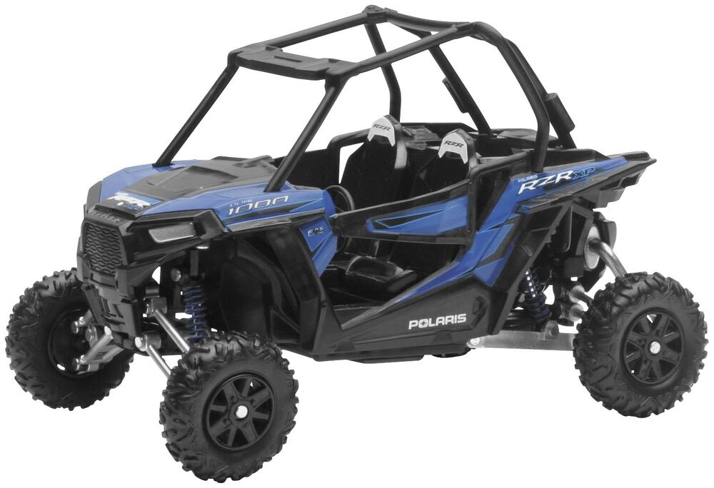 new polaris blue rzr xp1000 toy replica side by side sxs toys kids 1 18 sale ebay. Black Bedroom Furniture Sets. Home Design Ideas