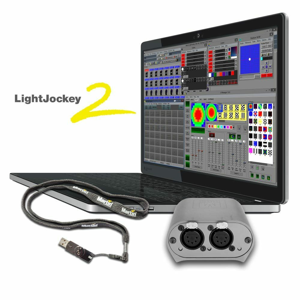 martin light jockey lightjockey 2 software with usb dmx. Black Bedroom Furniture Sets. Home Design Ideas