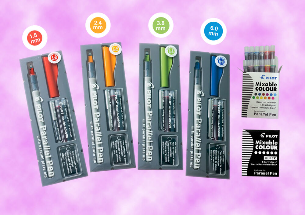 Pilot Parallel Calligraphy Pen Set With 12 Color Ink