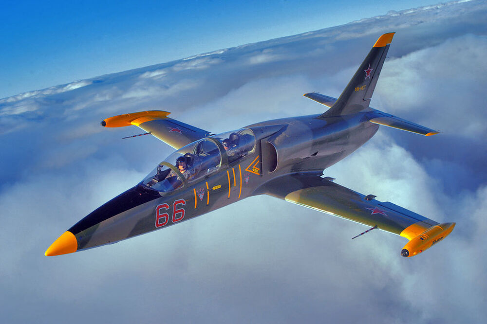 L-39 Albatros Jet Fighter Military Trainer Aircraft