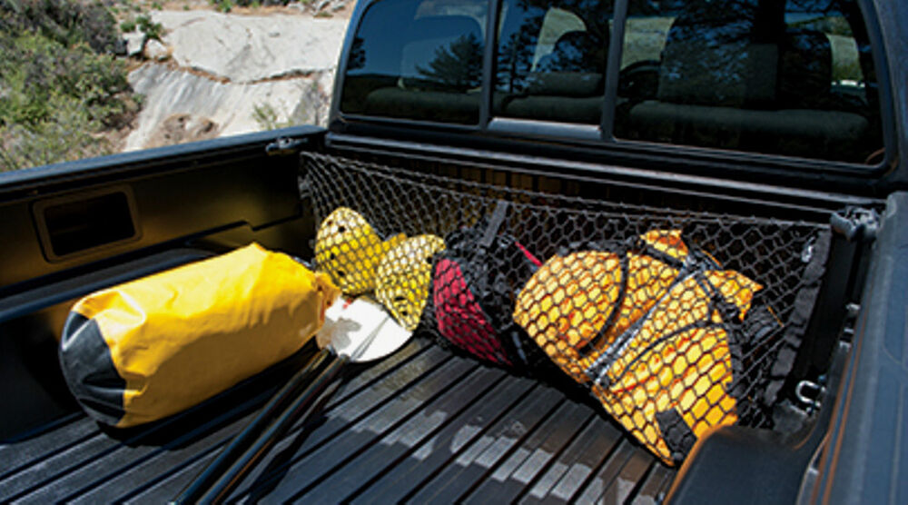 2016 And 2017 Toyota Tacoma Truck Exterior Bed Cargo Net