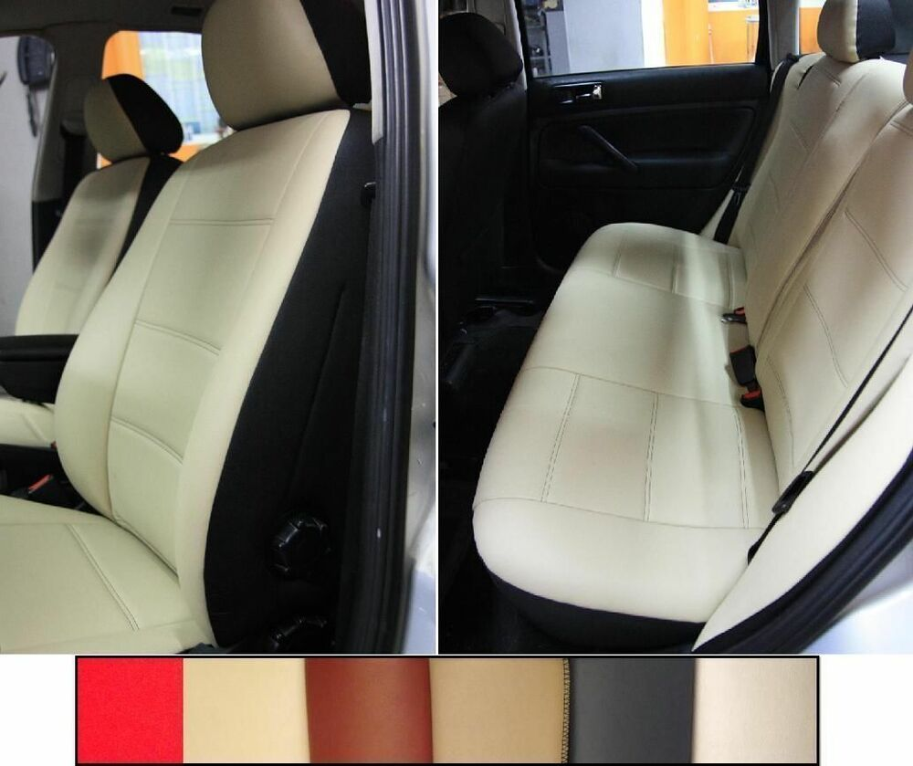 front and rear leatherette custom car seat covers fits s class 1991 1998 w140 ebay. Black Bedroom Furniture Sets. Home Design Ideas