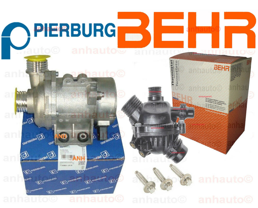 pierburg electric engine water pump behr thermostat 3. Black Bedroom Furniture Sets. Home Design Ideas
