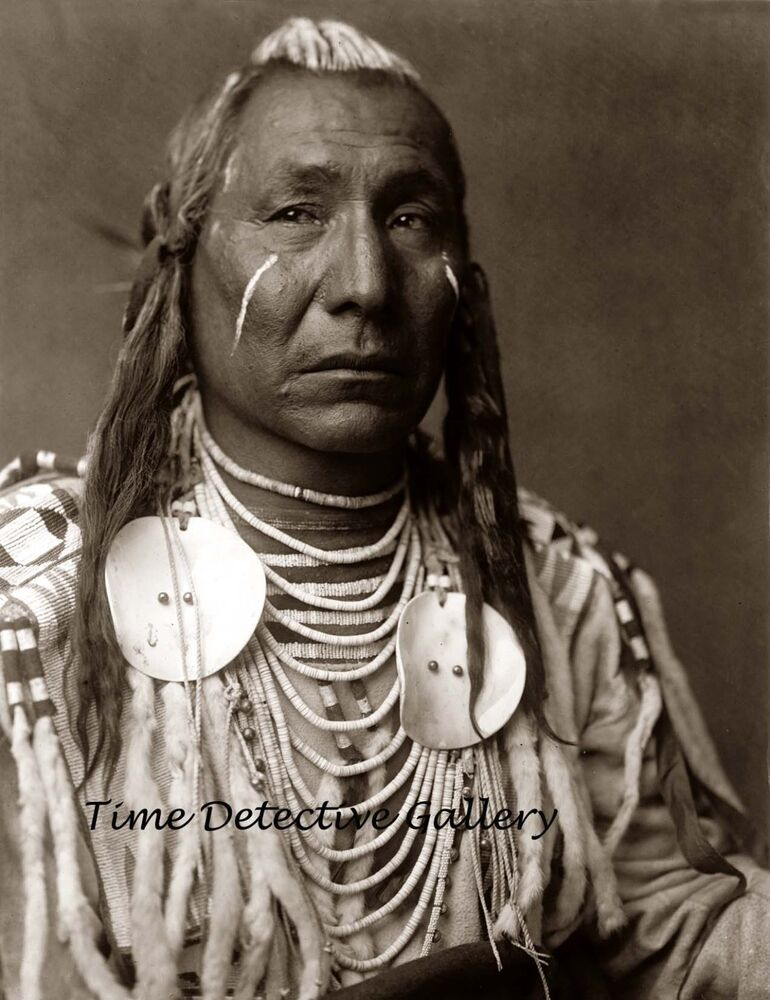 Native American Apsaroke Crow Quot Red Wing Quot 1908 Historic