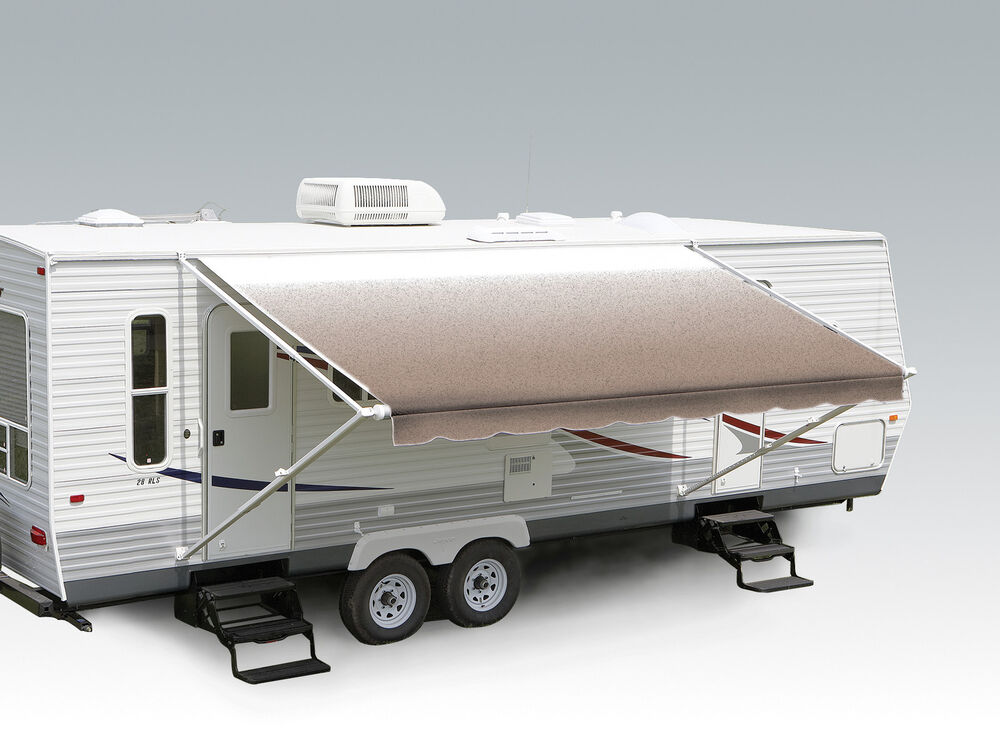 Carefree Pioneer Rv Awning 11 Camel Fade Complete With