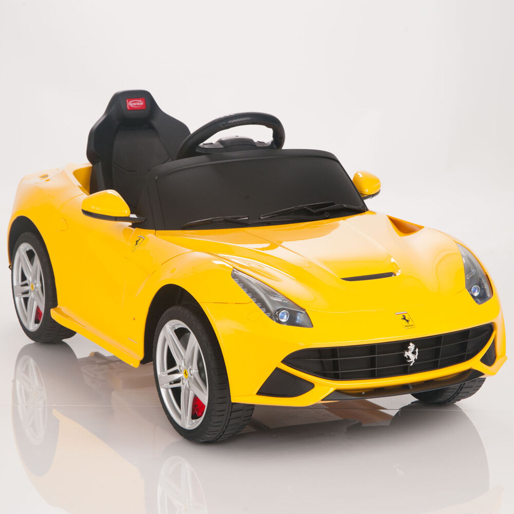 12V Ferrari F12 Berlinetta Kids Ride On Car Electric Power