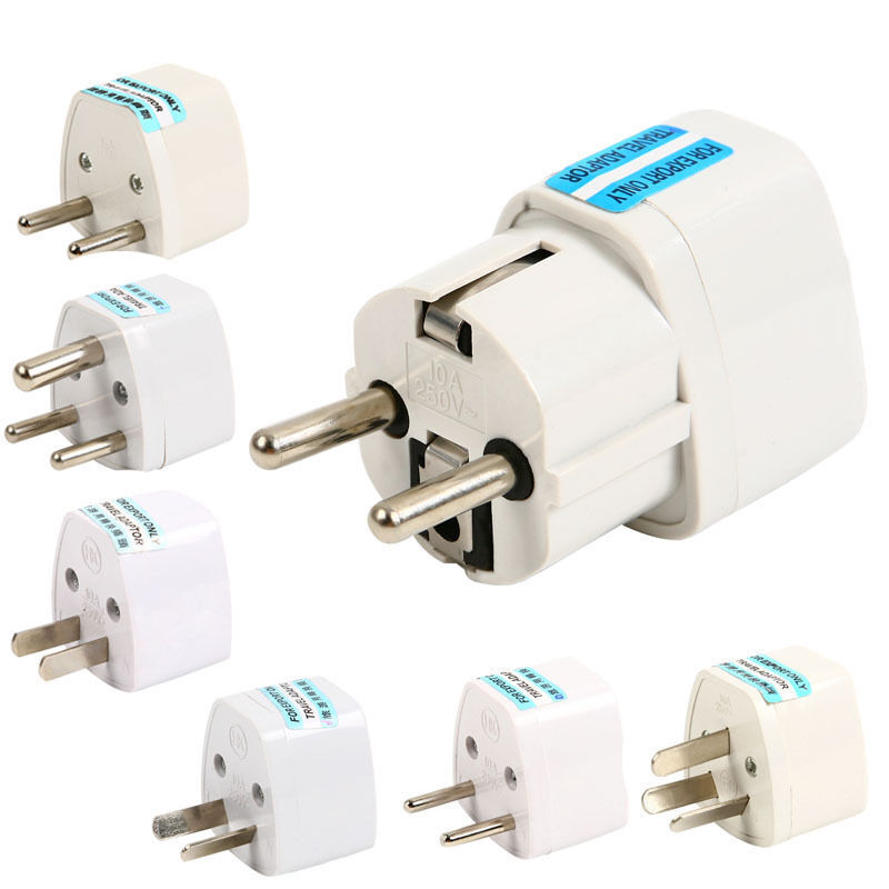 Eu To Aus Travel Adapter Qc2 0 Qc3 0 Adapter 9v 1 67a Android Adapter Realm Microsoft Xbox Wireless Adapter Xbox 360: US AU UK GER To EU Europe AC Power Socket Plug Travel