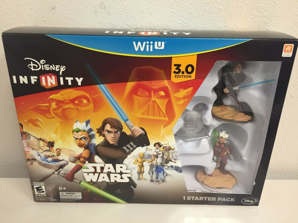USED Disney Infinity 3.0 Edition Starter Pack for Wii U ...