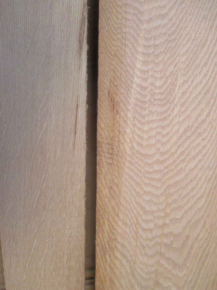 5 7 8 Quot Figured Grain White Oak Riff Sawn Boards Table Top