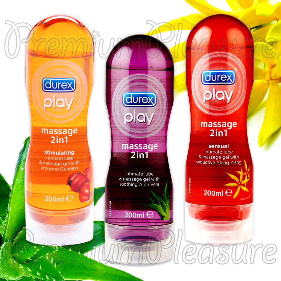 how to use durex play massage 2in1 gel stimulating