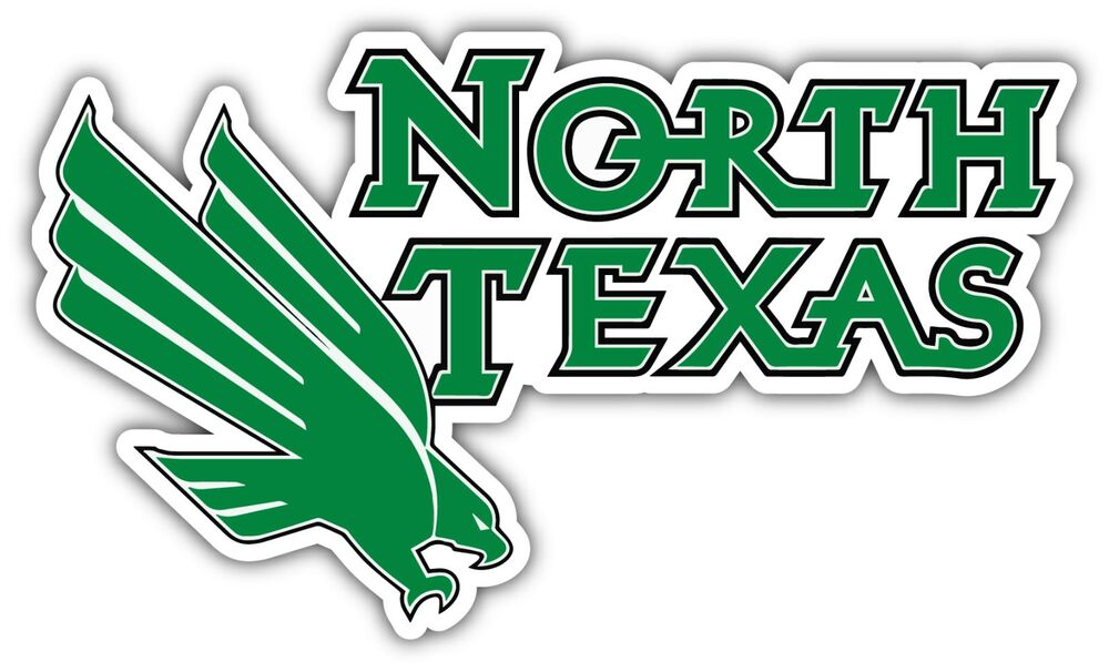 North Texas Mean Green College Ncaa Car Bumper Vinyl