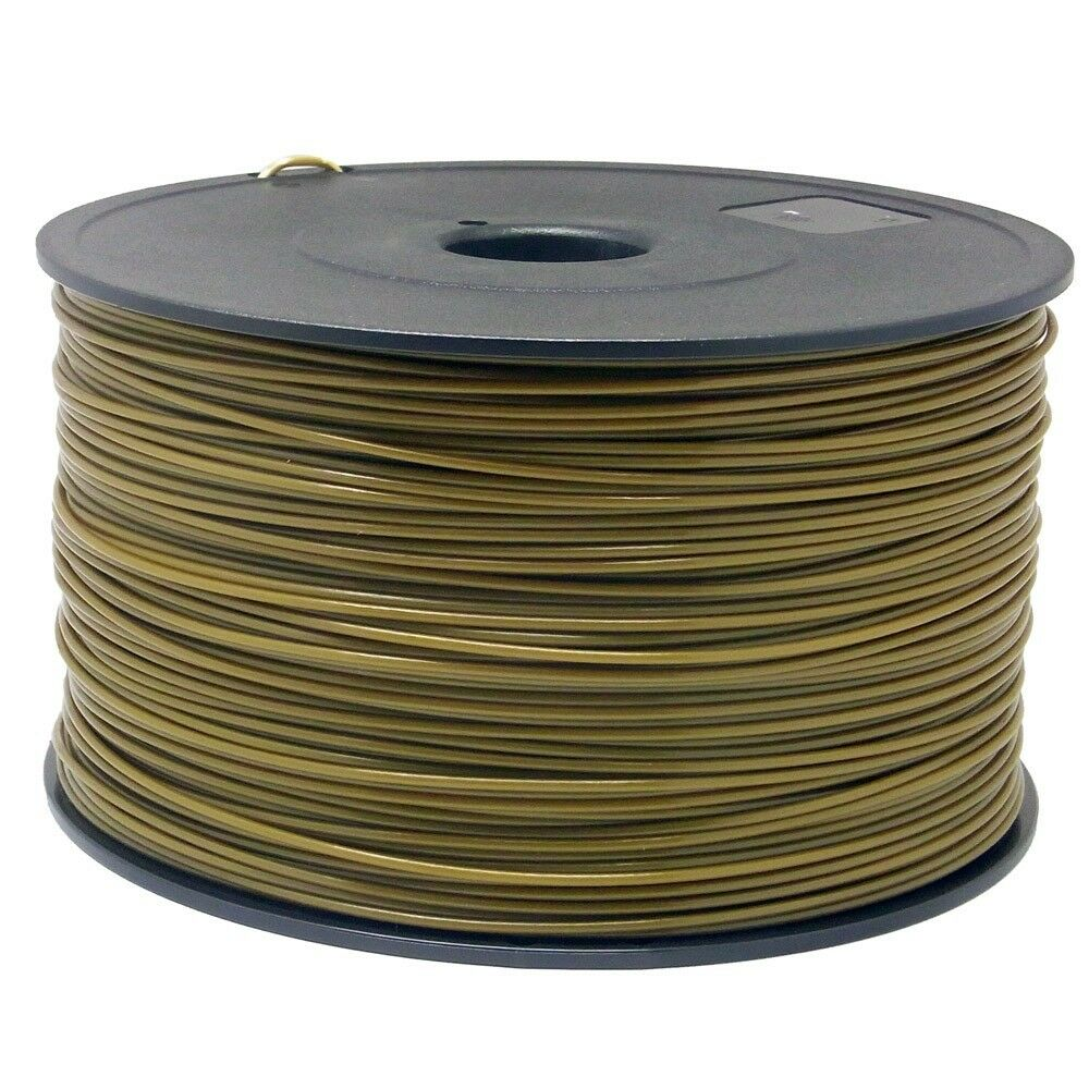 abs filament f r 3d drucker printer 1 75 mm 1kg spule trommel rolle in gold ebay. Black Bedroom Furniture Sets. Home Design Ideas