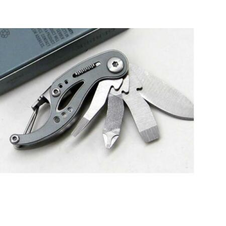 img-Couteau Outil Gerber Curve Mini Tool Tournevis Lame Manche Alu G0116