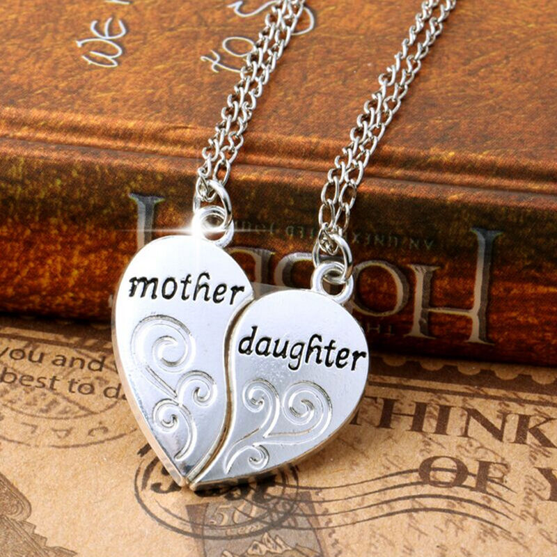 Stylish Charms Silver Mother And Daughter Love -3059