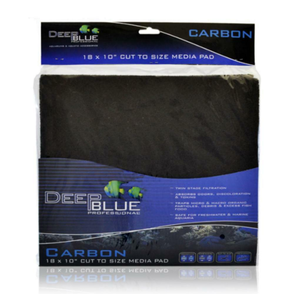 Deep Blue Activated Carbon 18x10 Quot Aquarium Filter Media