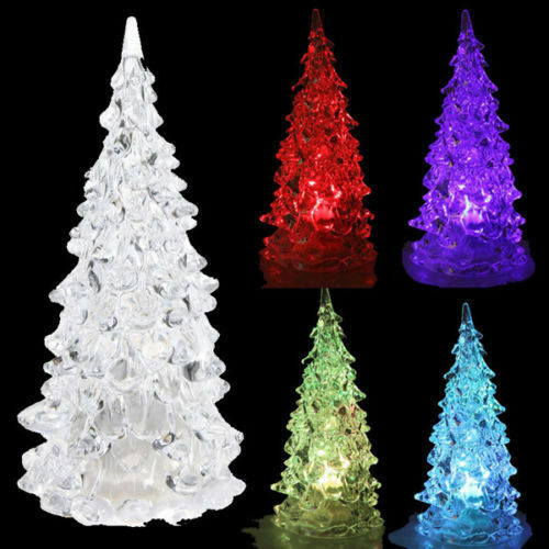 Christmas Decorations LED light Christmas tree Battery ...