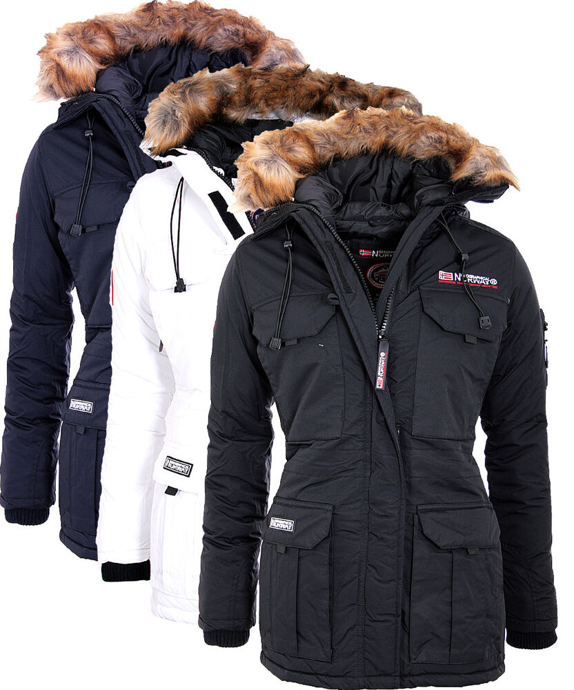 geographical norway alcatras alpaga ladies winter jacket women 39 s parka coat ebay. Black Bedroom Furniture Sets. Home Design Ideas