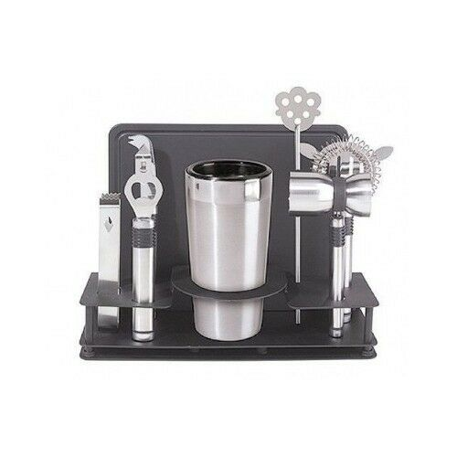 The ProBostonRoll™ is ideal for measured Cocktail Making and is used worldwide by Professional Bartenders for efficient Bartending. Comprehensive set of bar tools in a convenient water-resistant roll case Heavy duty View full product details.
