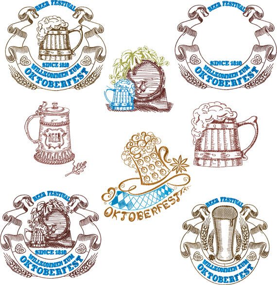 Abc designs oktoberfest machine embroidery designs set 5 for Embroidery office design version 7 5