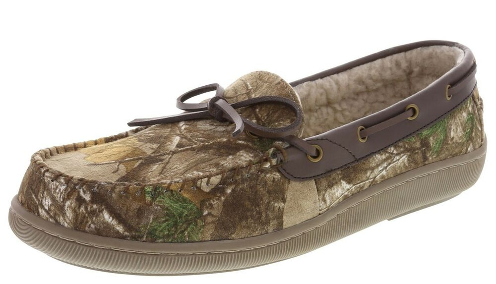 Mens Camouflage House Shoes