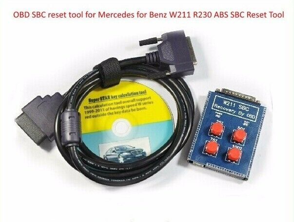 for mercedes sbc reset tool w211 r230 abs sbc tool repair code c249f ebay. Black Bedroom Furniture Sets. Home Design Ideas