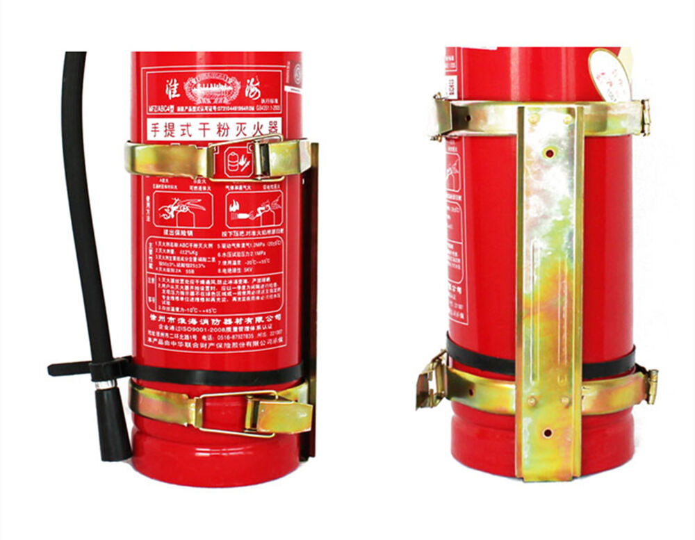 2kg 3kg 4kg Size Fire Extinguisher Bracket Vehicle Wall