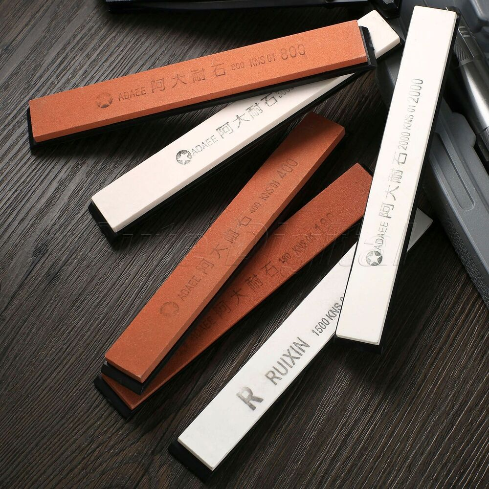 how to use a sharpening stone for kitchen knives
