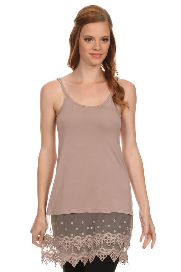 Camisoles You'll Love For Layering An essential basic for pairing with sheer tops, short shirts, open sweaters, plunging necklines, and warm temps, camisoles offer up comfort, coverage, and function.