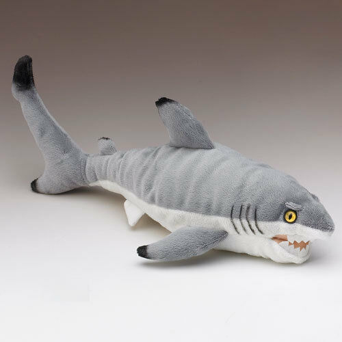 New black tip reef shark stuffed animal fish plush toy for Fish stuffed animal