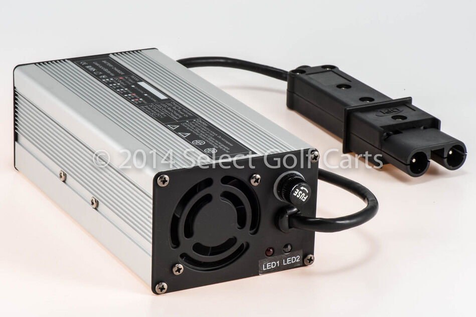 New 48v yamaha golf cart battery charger g19 g22 48 volt for Yamaha golf cart chargers