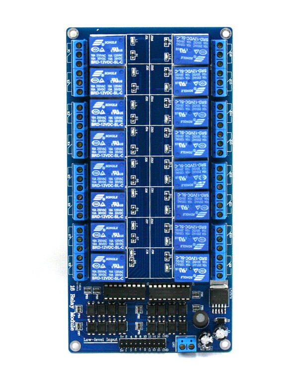 Sainsmart v channel relay module with optocoupler for