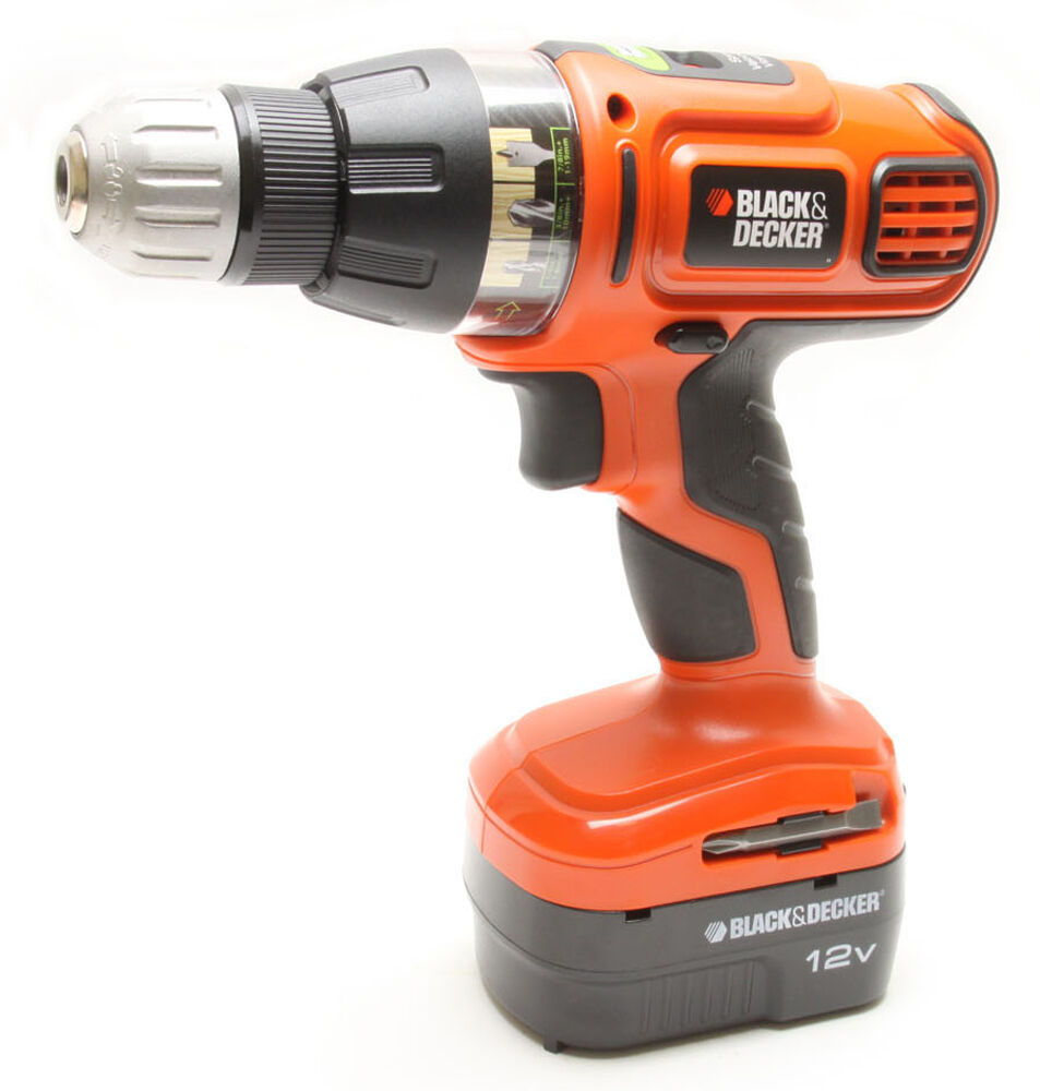 black and decker drill black amp decker ss12c 12v nicd 3 8 quot cordless drill driver 12616
