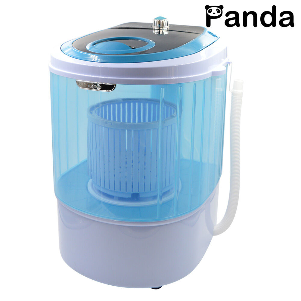 Panda Portable Mini Countertop Washing Machine With Spin