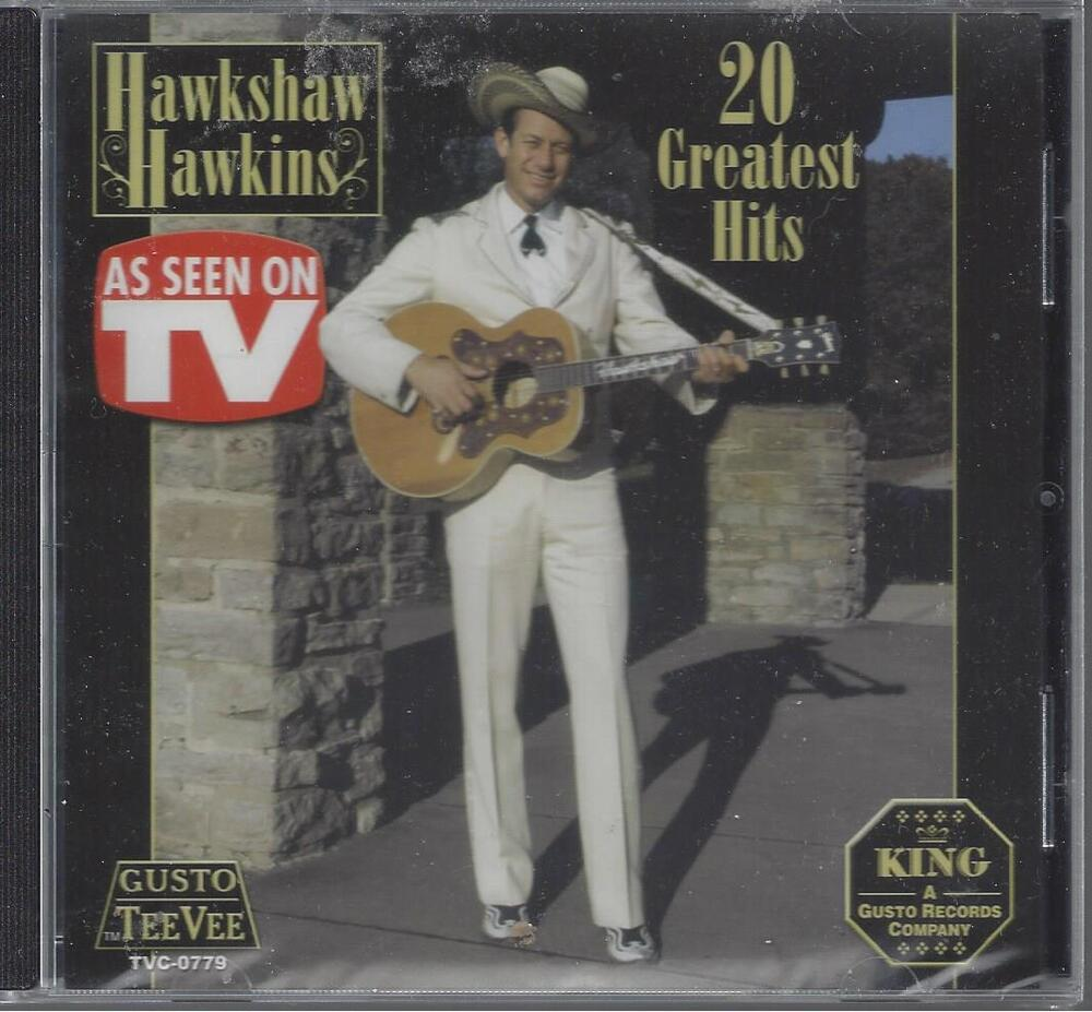 Hawkshaw Hawkins 20 Greatest Hits Lonesome 7 7203 Pan