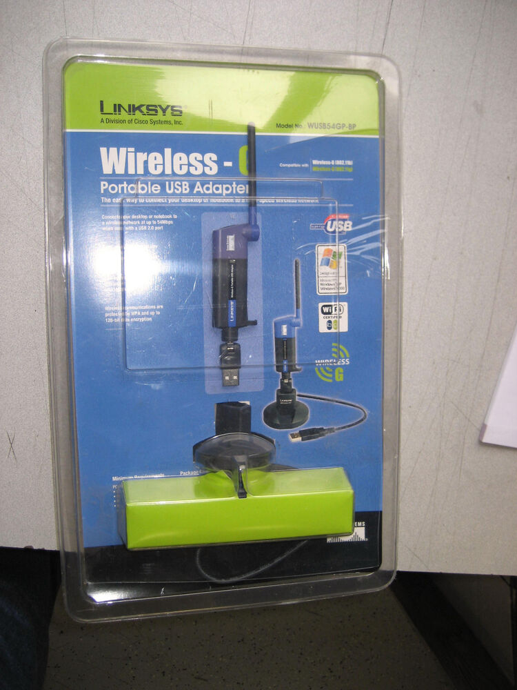 COMPACT WIRELESS G USB ADAPTER WUSB54GC DRIVER