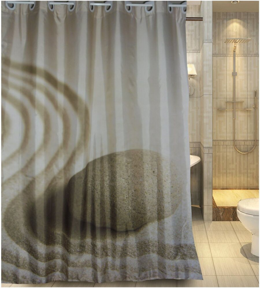 Europe Latest Generation Hookless Design Fabric Shower