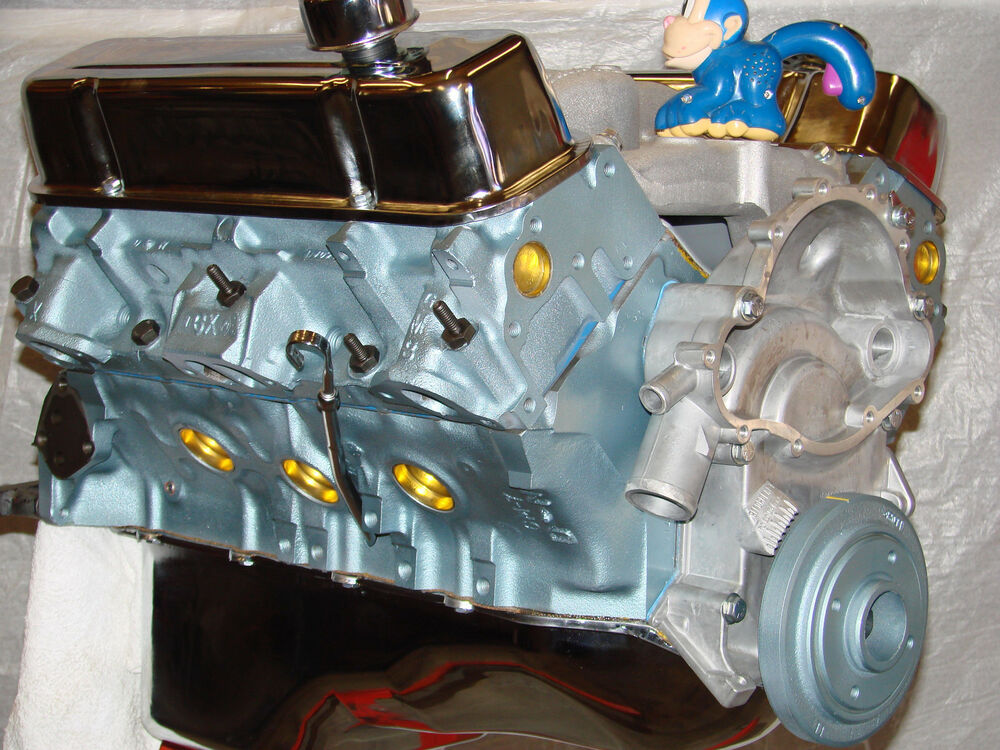 461 pontiac high perf balanced crate engine with cast heads 400 455 461 468 ebay