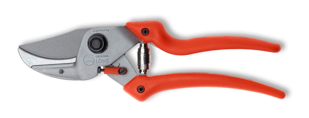 Lowe Curved Bladed Anvil Pruning Shears With Ergonomic Handle 8107