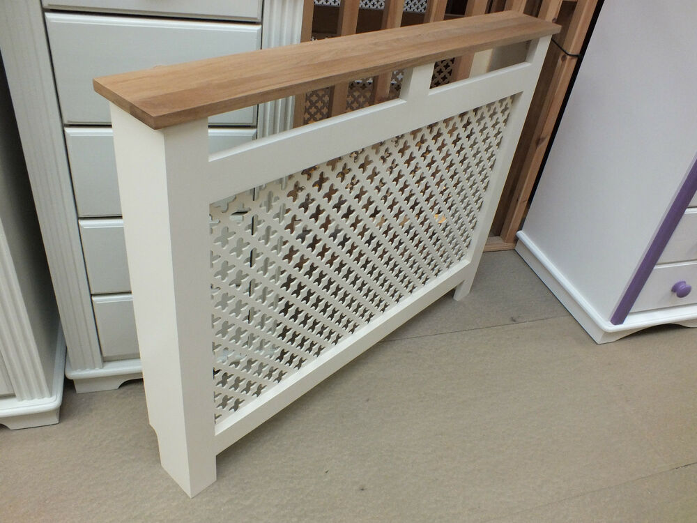 HAMPSHIRE 3' PAINTED RADIATOR COVER SOLID PINE SOLID OAK ...
