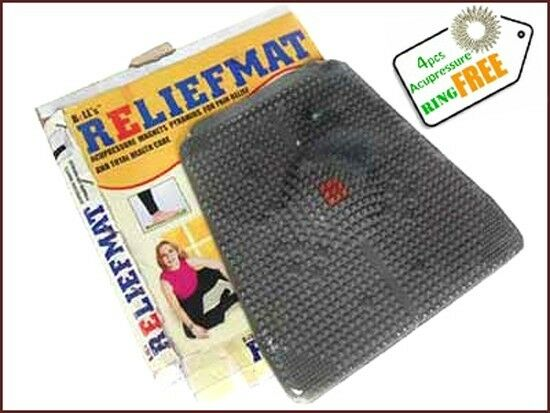 Relief Mat Acupressure Magnets Pyramid For Pain Relief