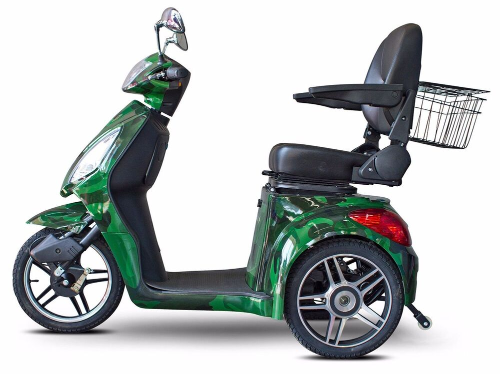 Ewheels Camo Green Fast Ew 36 Mobility Scooter Electric 3