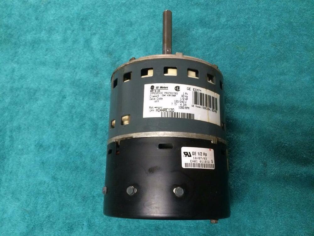 Ge 5sme39hl0240 carrier bryant hd44re120 variable speed for Variable speed motor furnace