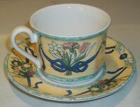 Villeroy & and Boch CASTELLINA cup and saucer NEW NWL
