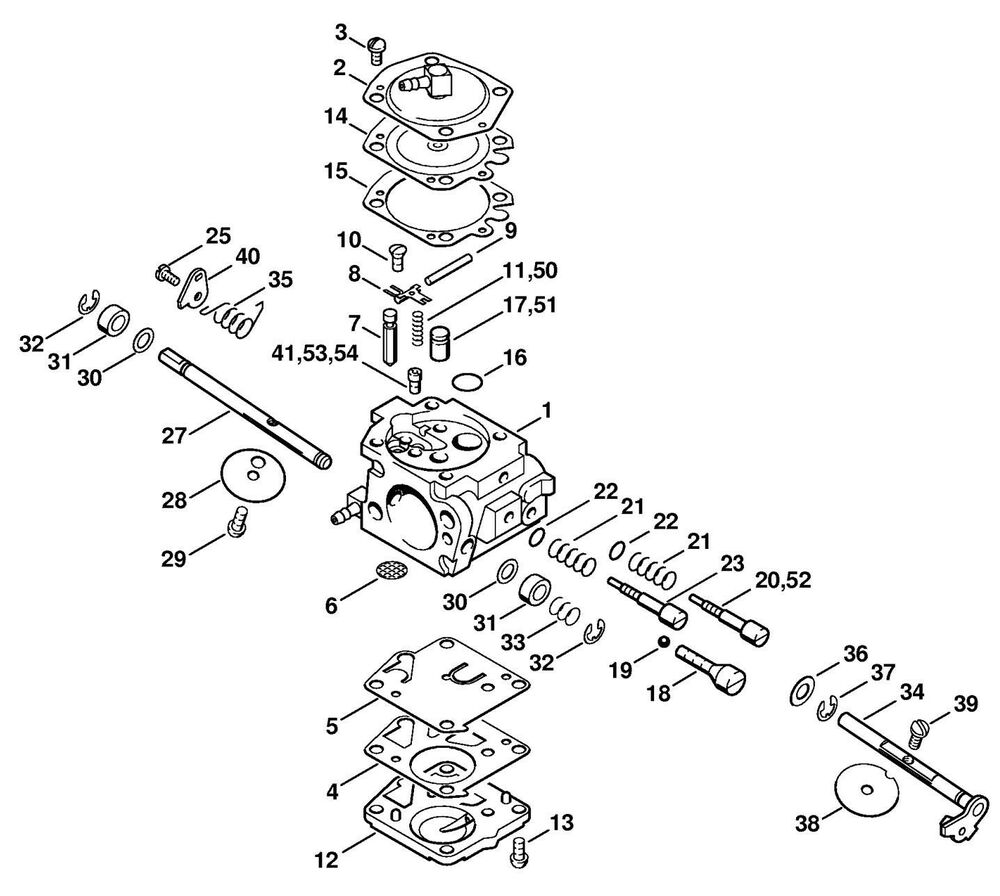 Walbro Carburetor assembly instructions Service Manual