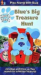 Blue S Clues Blue S Big Treasure Hunt Vhs 1999