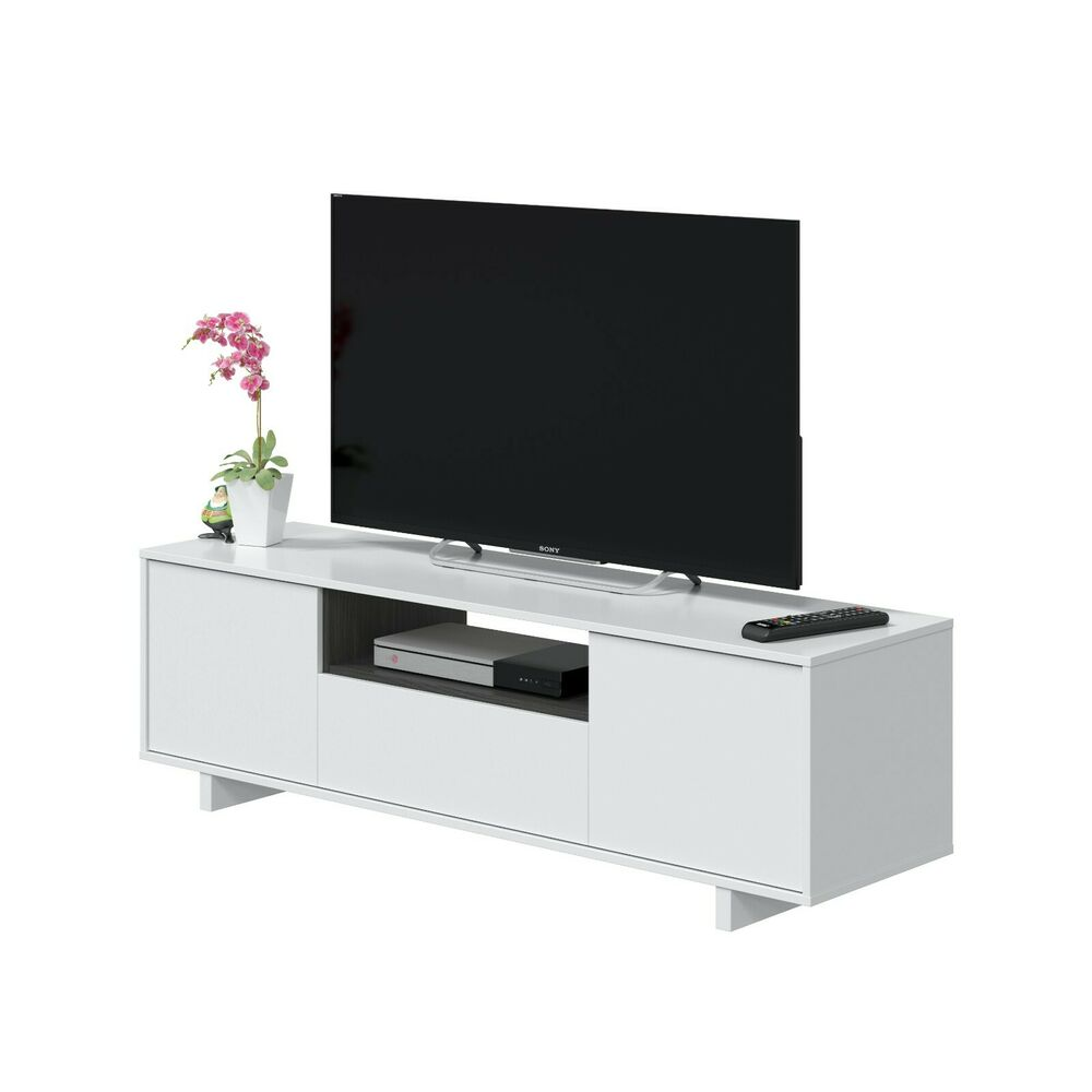 Mueble de comedor salon tv libreria modulo para sal n for Modulos salon blanco