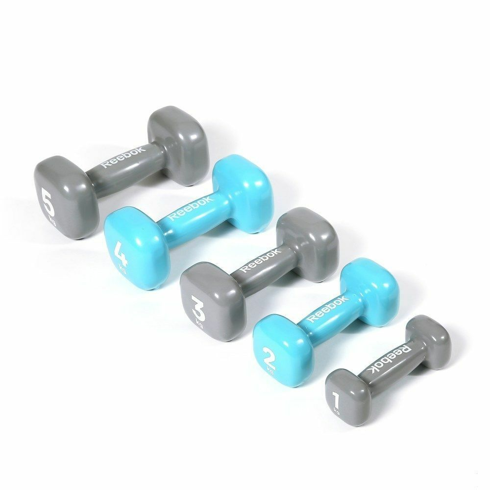 Reebok Dumbbell Womens Strength Training Vinyl Hand Weight