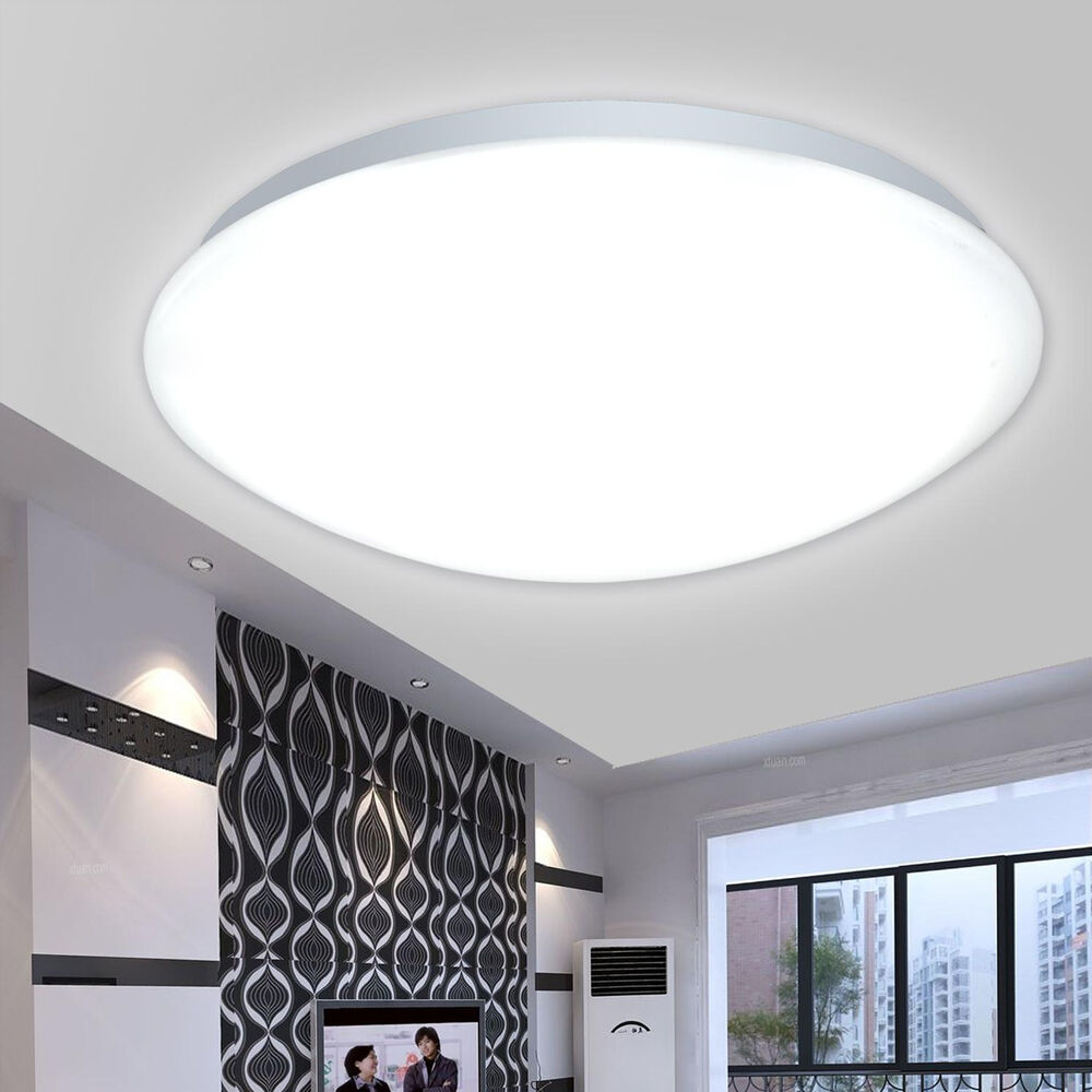 8w 12w 16w Led Kitchen Lighting Fixtures Ultra Thin Flush: Porch 12W 16W 18W LED Flush Mounted Ceiling Light Wall