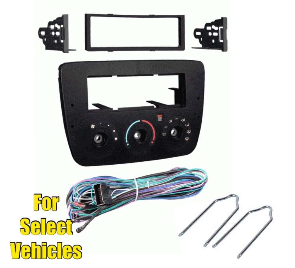 car stereo radio install dash kit combo for 2000 2003 ford. Black Bedroom Furniture Sets. Home Design Ideas
