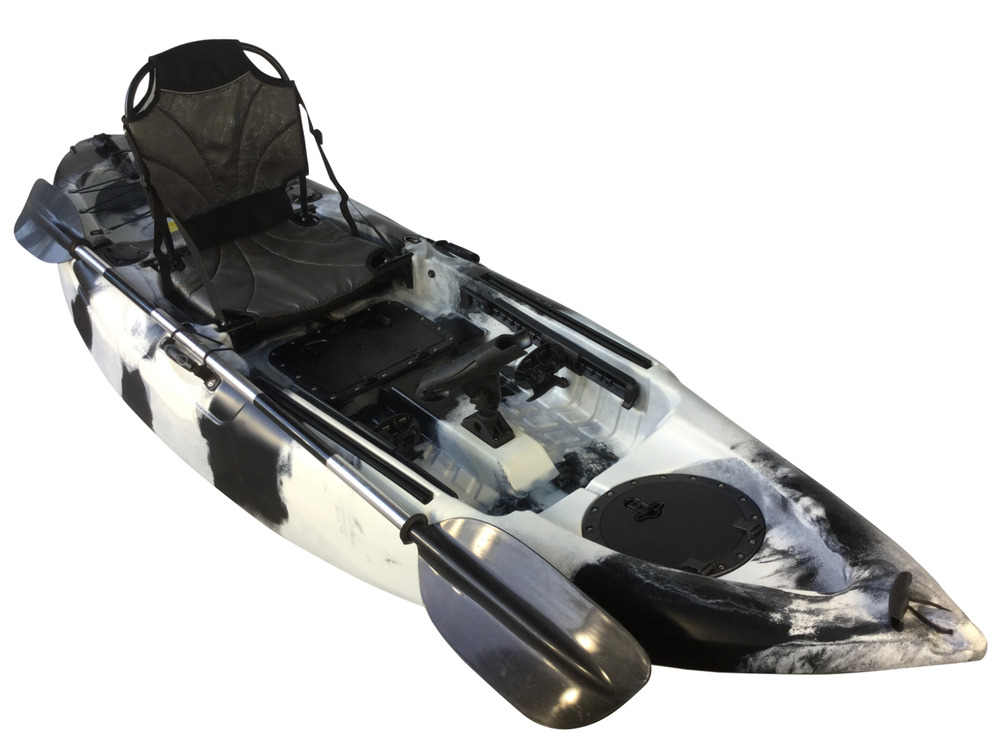 Brand new sit in kayak single canoe sea river spray deck for Sea fishing kayak